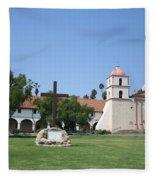 Mission Santa Barbara Fleece Blanket