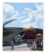 Mission Space Pavilion Fleece Blanket