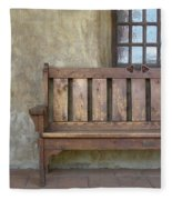 Mission Still Life II, Mission San Juan Capistrano, California Fleece Blanket