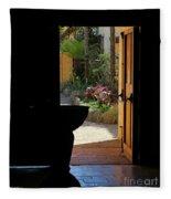 Missions Side Door Fleece Blanket