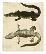 Mississippi Alligator Fleece Blanket