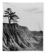 Mississippi Erosion, 1936 Fleece Blanket