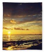 Mississippi Gulf Coast Beauty Fleece Blanket