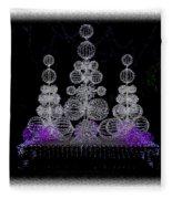 Missouri Botanical Garden Glow Ver 1 Dsc09398 Fleece Blanket