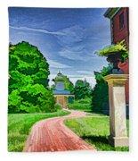 Missouri Botanical Garden Pathway Fleece Blanket