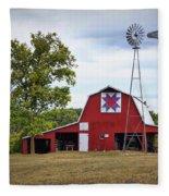 Missouri Star Quilt Barn Fleece Blanket