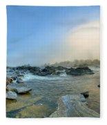 Mists Of Great Falls Fleece Blanket