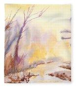 Misty Creek Fleece Blanket