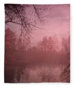 Misty Morning Light Fleece Blanket