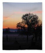 Misty November Morn Fleece Blanket