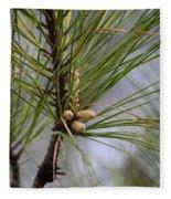 Misty Pines In Spring 2013 Fleece Blanket