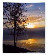 Misty Reflections Fleece Blanket