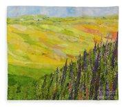 Misty Valley Fleece Blanket