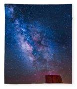 Mitchell Butte Milky Way Fleece Blanket