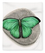 Mito Awareness Butterfly- A Symbol Of Hope Fleece Blanket