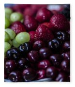 Mixed Fruit Fleece Blanket