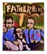 Mlk Fatherhood 2 Fleece Blanket