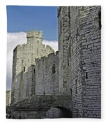Moat And Bridge Fleece Blanket