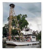 Mobile Osprey Nest Fleece Blanket