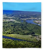 Moccasin Bend Fleece Blanket