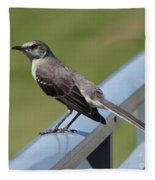 Mockingbird Perched Fleece Blanket