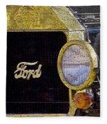 Model A Ford Fleece Blanket