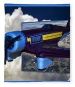 Model Planes Hershey 01 Fleece Blanket