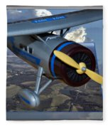 Model Planes Top Wing 04 Fleece Blanket