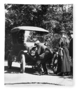 Model T Ford, 1919 Fleece Blanket