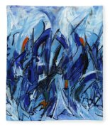 Modern Art Eleven Fleece Blanket