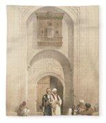 Modern Mansion, Showing The Arabesque Fleece Blanket