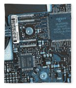 Modern Technology Fleece Blanket