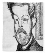 Modigliani - Paul Alexander Fleece Blanket