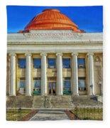 Modoc County California Courthouse Fleece Blanket