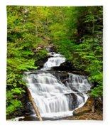 Mohican Falls Fleece Blanket
