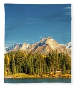 Molas Lake And The Needles Pan 1 Fleece Blanket