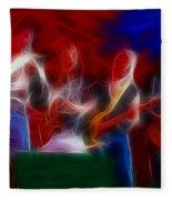Molly Hatchet-gb23a-fractal Fleece Blanket