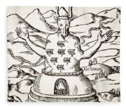 Moloch Fleece Blanket