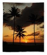 Moloki Sunset Fleece Blanket