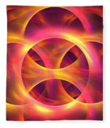 Molten Fleece Blanket