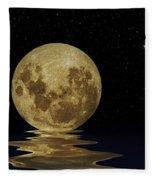 Molten Moon Fleece Blanket