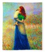 Mom I Love You 021 Fleece Blanket