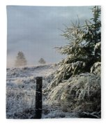 Moment Of Peace Fleece Blanket