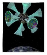 Momentary Sputnik 13  Fleece Blanket