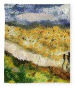 Momzie's Nature -t02-2v03f Fleece Blanket