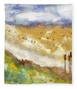 Momzie's Nature -t0202f Fleece Blanket