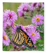 Monarch 1 Fleece Blanket
