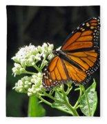Monarch Butterfly 59 Fleece Blanket