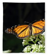 Monarch Butterfly 61 Fleece Blanket
