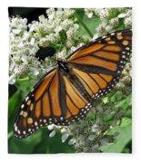 Monarch Butterfly 62 Fleece Blanket